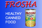 Frosha canned food